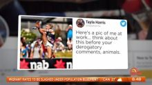AFLW star attacked by gutless trolls over social media picture