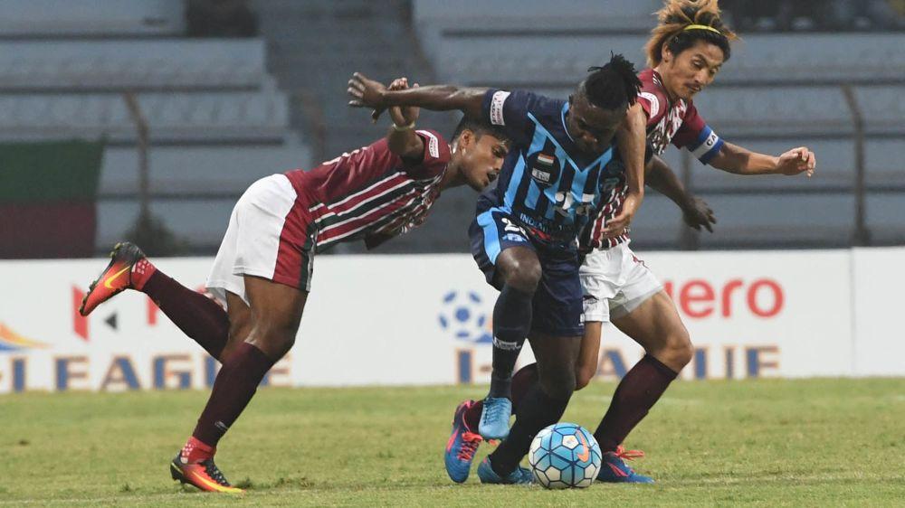 I-League 2017: Minerva Punjab 0-1 Mohun Bagan - Late Sony Norde winner keeps wasteful Mariners on top