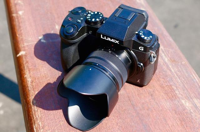 Panasonic's Lumix G7 is a small camera with serious 4K chops