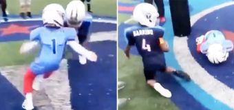 Outrage over disturbing youth football video