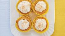 Lemon Coconut Cupcakes from 'Sensationally Sugar Free'