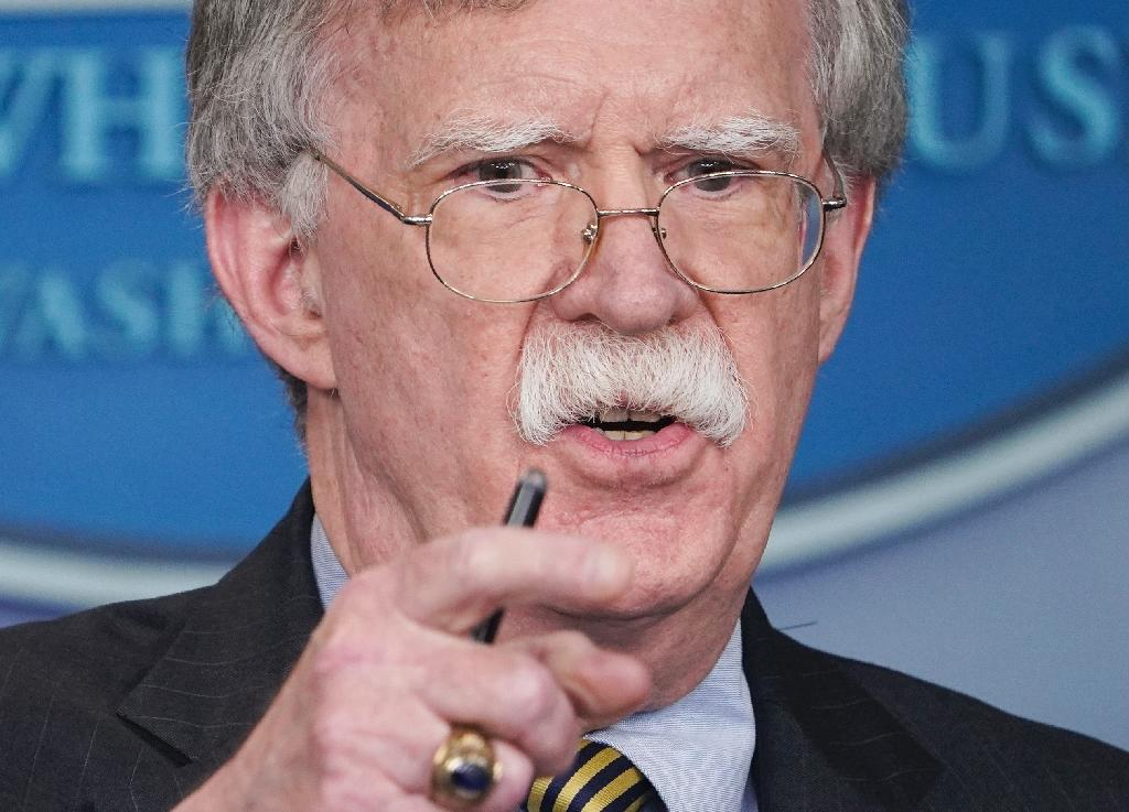 US National Security Advisor John Bolton was dispatched to Moscow for emergency talks after Trump said he would withdraw from the decades-old INF Treaty (AFP Photo/Mandel NGAN)