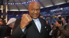 "YAHOO SPORT EXCLUSIVE: Legendary two-time world heavyweight boxing champion George Foreman talks to Yahoo Sport. ""Joe Louis is my number one of all time."""