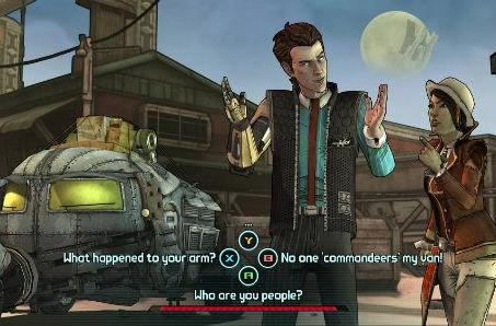 Telltale tells the tale of two tales in Tales from the Borderlands