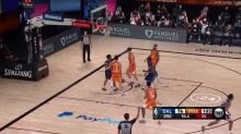 Trey Burke with a 3-pointer vs. Phoenix Suns