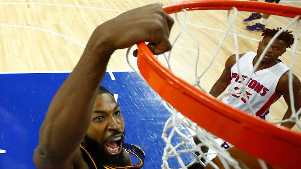 Cavs' Tristan Thompson out next two games with sprained thumb