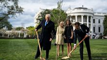 Trump And Macron's Friendship Tree Is Dead, So Macron Is Sending Another