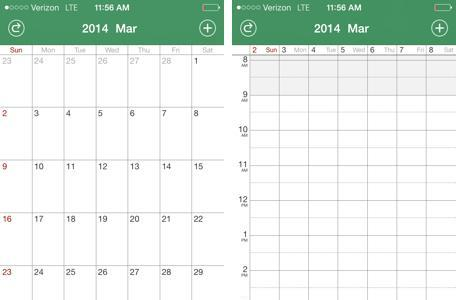 Staccal 2 is an easy-to-use calendar with a ton of customization options