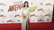 Evangeline Lilly, radiante en el estreno de Ant-Man
