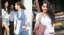 Pics: Sara Ali Khan, Janhvi Kapoor, Ananya Panday Lunch Together