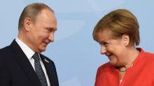 Putin to meet Merkel to talk Iran and Ukraine