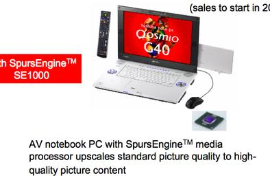 Toshiba aims to deliver laptops with Cell-based graphics this year