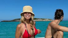 Christie Brinkley, 65, called 'forever young' after posing in a red bikini