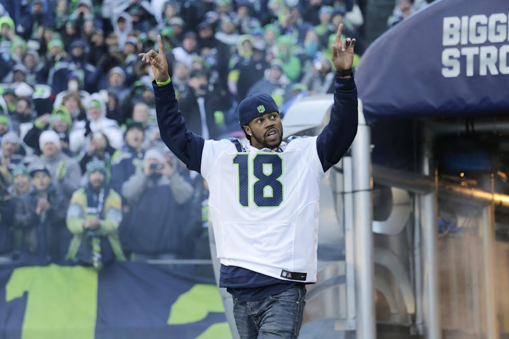Seattle releases WR Sidney Rice, DE Red Bryant