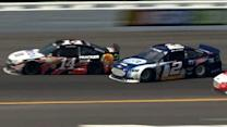 Keselowski and Stewart make great saves