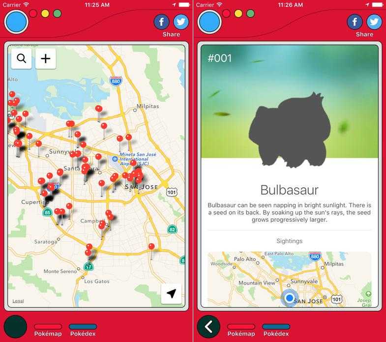Hot new app helps you find all the Pokemon hiding in your area