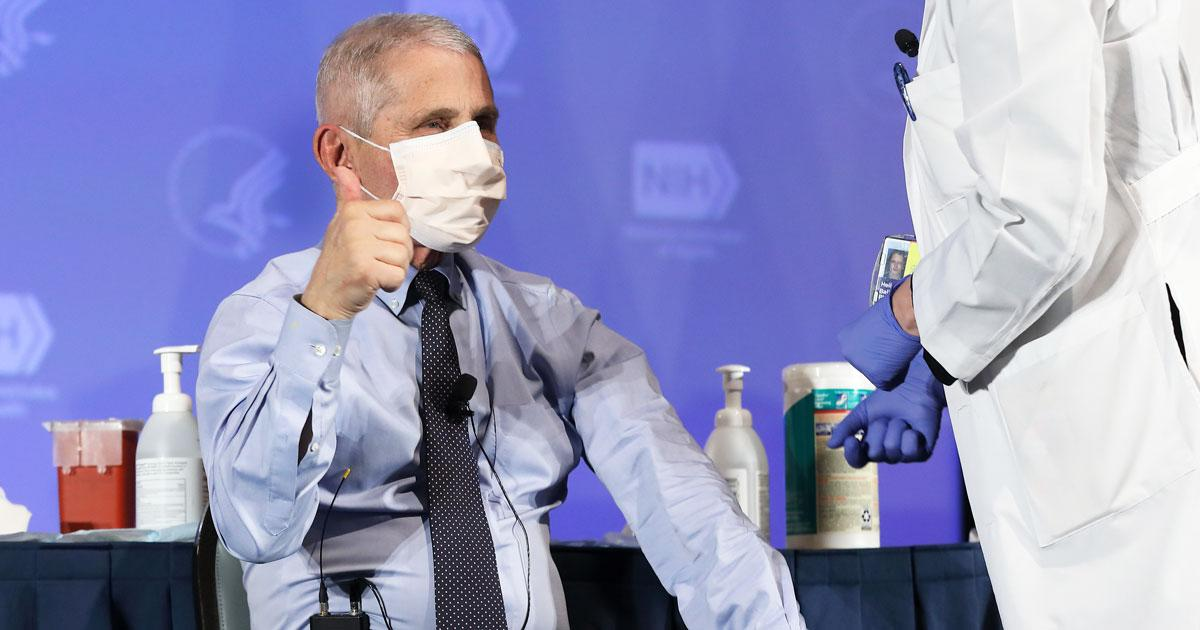 Dr. Fauci Says April Will Likely Be 'Open Season' For Vaccine Availability - Yahoo Lifestyle