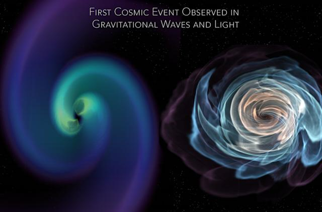 Astronomers just measured a whole lot more than gravitational waves