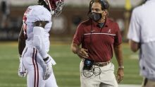Nick Saban: It 'doesn't seem quite right' that he can't communicate with team if he's not at game