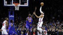 76ers star duo miss NBA win over Knicks