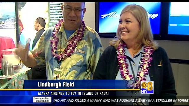 Alaska Airlines to fly to island of Kauai