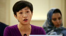 Hong Kong legislator urges U.N. rights body to probe 'police abuse'