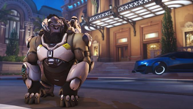 Overwatch 2 hero Winston