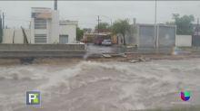 Inundaciones, muertos y desaparecidos por estragos del huracán Hanna en México