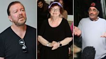 Ricky Gervais calls BBC out for hypocritical treatment of Jo Brand and Danny Baker