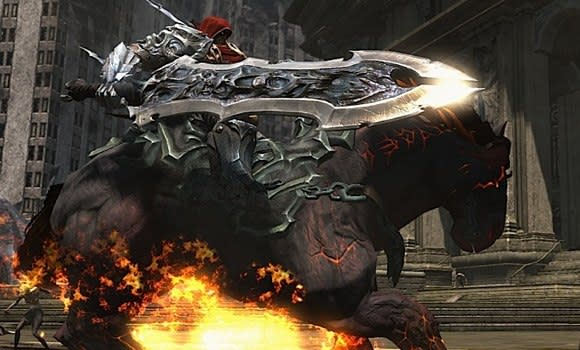 Darksiders rides into 1.2 million homes, THQ recovering financially