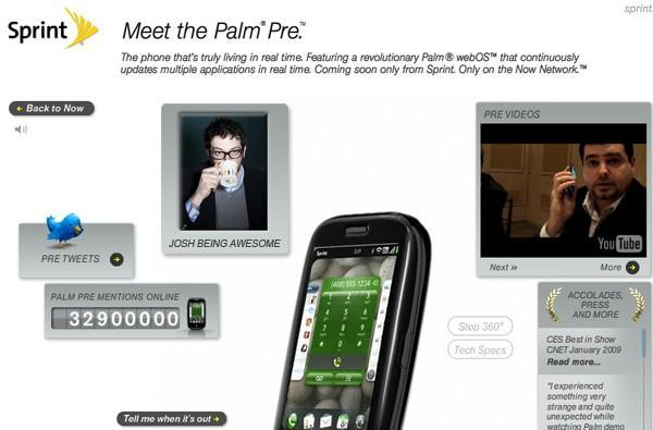 Sprint puts a vacation blackout on May -- Palm Pre launch likely?