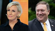 Mika Brzezinski apologizes after calling Mike Pompeo 'a wannabe dictator's butt boy' on 'Morning Joe'