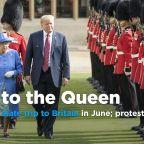 Trump to make state visit to U.K. in June