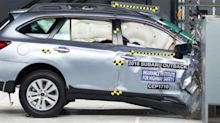 Crash tests show automakers made strides in passenger safety