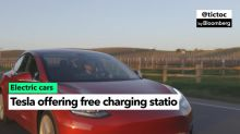 Tesla to Offer Free Electric Car Charging Stations to Companies