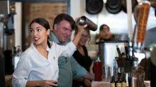 A.O.C. slams Piers Morgan for mocking her former job as a bartender