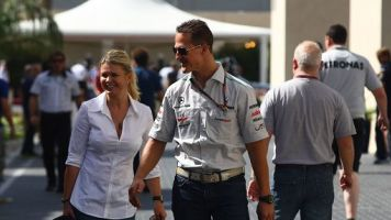"Corinna Schumacher: ""Michael combattente, non si arrenderà"""
