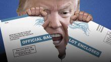 Si Trump controla el voto por correo, controla la democracia