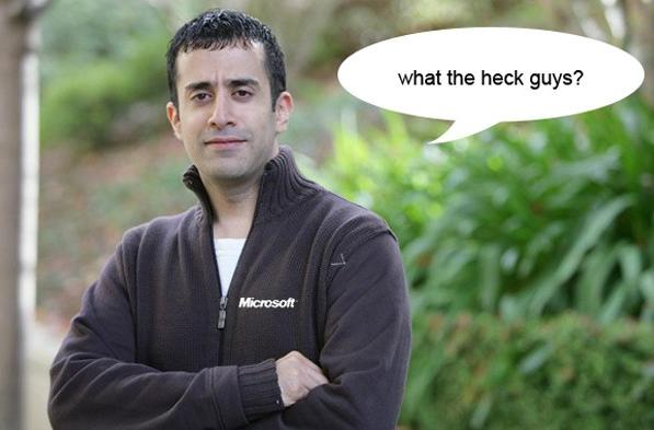 CEOh no he didn't!: Rahul Sood heckles HP over strangely named Envy h8 PC