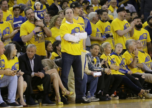 Joe Lacob has all the humility of a man with $400 million. (AP)
