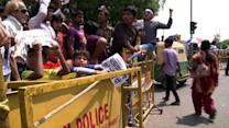 Indian police face protests over rape of girl, five