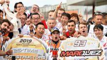Marc Márquez gana el Gran Premio de Japón de Moto GP