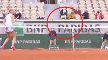 'Crazy': Petra Kvitova's celebration fail in bizarre French Open rally