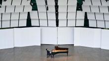 """""""C'est la culture qui résiste"""", se félicite le maire de La Roque-d'Anthéron qui a pu maintenir son festival international de piano"""