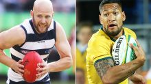AFL stars reprimanded over controversial Israel Folau posts