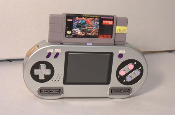 SupaBoy portable SNES, the most fun you can have without a soldering iron