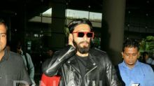 Airport Spotting: Ranveer Singh nails in an all-black look as he comes back in town