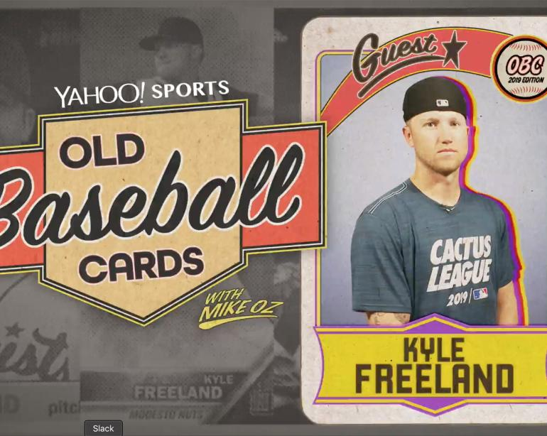 Kyle Freeland Opens Old Baseball Cards