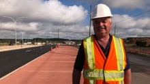 New displaced left turn at St. Peters Road and the bypass will be the first in Canada