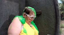 I'm a Celeb's Anne gets slimed in Bushtucker Trial